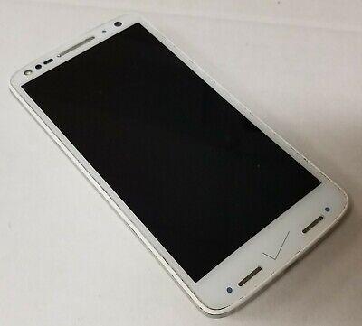 Motorola Droid Turbo 2 Verizon Android Smartphone 32GB White (Image Burn)
