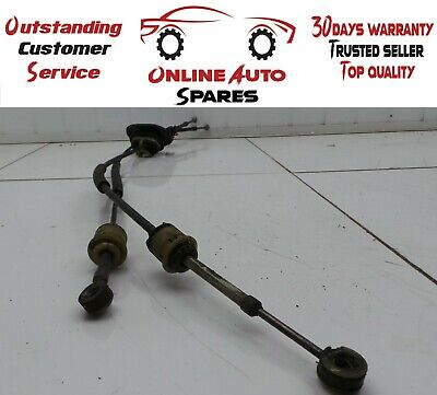 Peugeot 207 MK1 1.4 Petrol 5 Speed Manual Gear Selector Linkage Cables 2006-2012