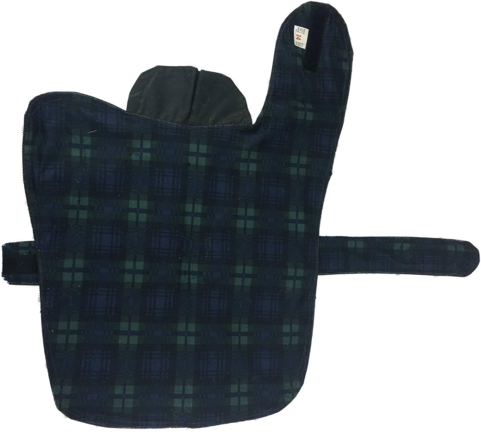 New Wax Dog Coat British Waterproof Cotton Rain Outdoor Windproof Puppy 10