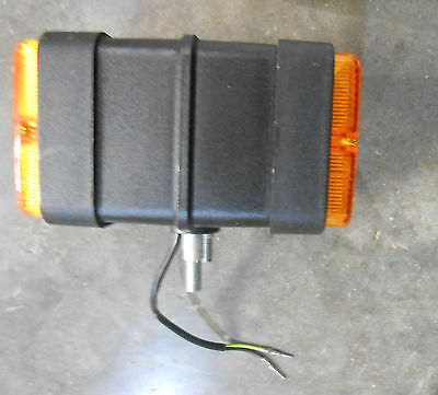 HELLA Amber/Amber Double-Face Park & Turn Signal (E-7)