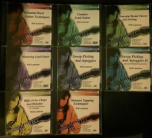 Instructional DVD set - Will Landrum, Interactive Guitar Clinic Series Richmond Yarra Area Preview