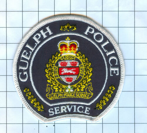 International Police Patch Canada Guelph