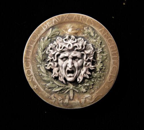 MEDUSA  GARGOYLE  GOTHIC  ELLISON  PORCELAIN CABOCHON TILE