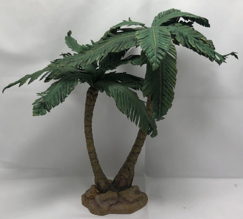 "11"" Dept 56 Palm Tree Replacement Neapolitan Flight To Egypt Nativity Scene READ"