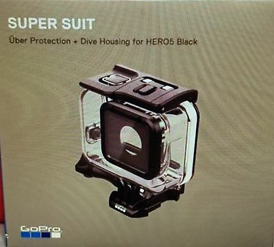 Real GoPro Super Suit Waterproof Camera Case Dive Shelter HERO 5 Hero5 Black