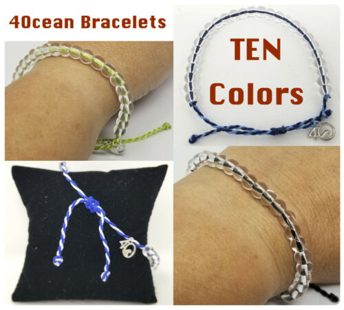 4Ocean Recycled Plastic & Glass Beaded Bracelet BUY MORE Save More! MIX & MATCH!