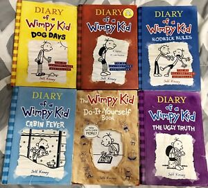 Diary of a wimpy kid books kijiji in ontario buy sell save diary of a wimpy kid books soft and hard cover 600 each solutioingenieria Choice Image