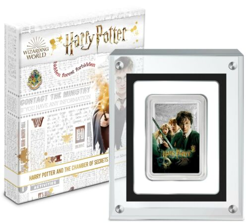 2020 Niue Harry Potter Chamber of Secrets Movie Poster 1 oz 999 Silver Bar - NEW