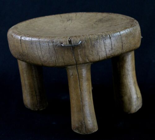 Art African - Stool Logboat Senoufo Antique & Unusual - Senufo Stool 16,5 CMS