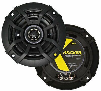 "Kicker - Cs Series 4"" 2-way Car Speakers With Polypropylene"