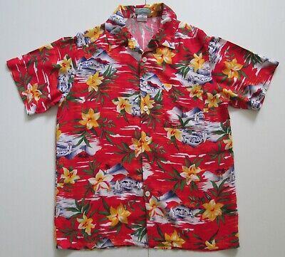"Vintage Auth OTC Hawaiian Shirt 43""-109.5cm M (179H)"