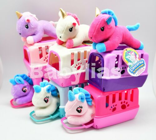 1 Small Pet Shop Toy Unicorn + Carrying Case Kids Magical Pony Stocking Stuffers