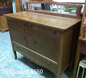 Gorgeous oak sideboard