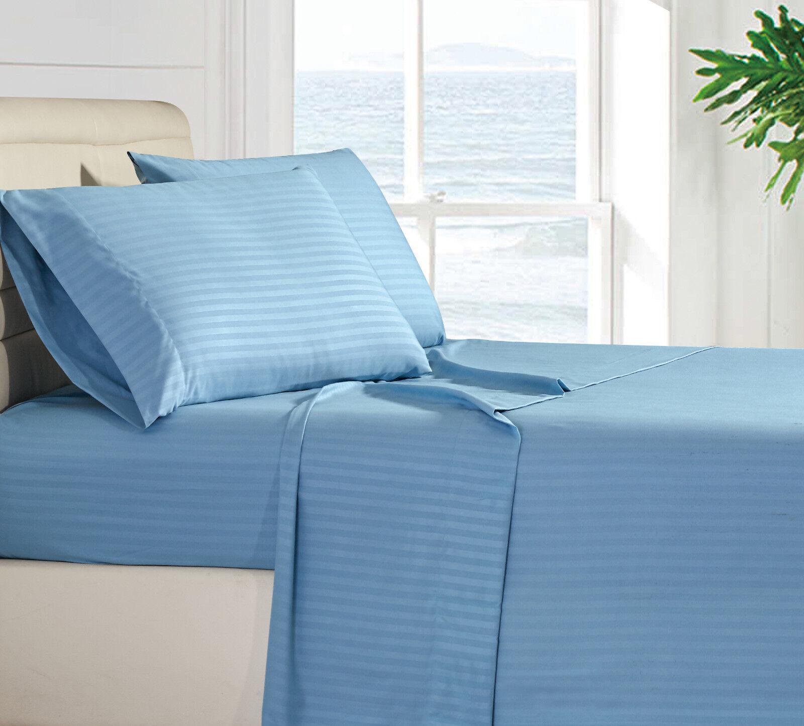 Egyptian Comfort 1800 Thread Count Bed Sheet Set - 4 Piece Deep Pocket 11 Colors