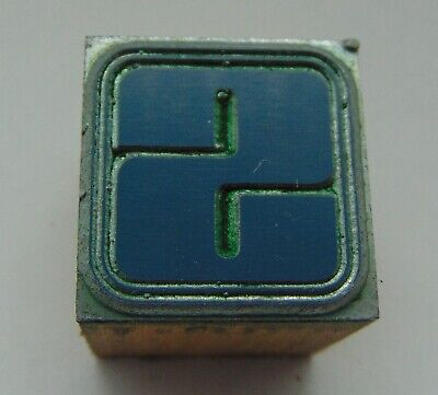 Printing Letterpress Printers Block Letter S With Boarder