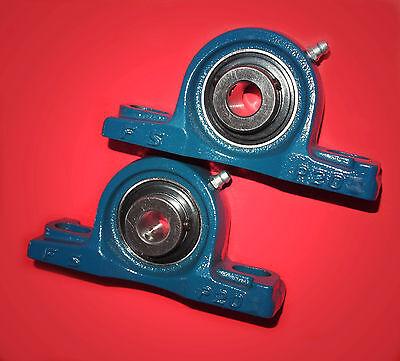 2 Gehäuselager / Stehlager / Stehlagereinheit UCP 206 / 30 mm Wellendurchmesser