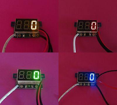 0-999ma Digital Mini Current Led Display 0.36 Ammeter Dc 4-30v Amp Meter Diy