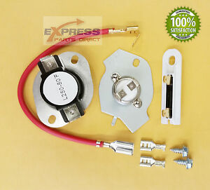279816 and 3392519  Dryer Thermal Cut Out Kit and Fuse for Whirlpool, Kenmore