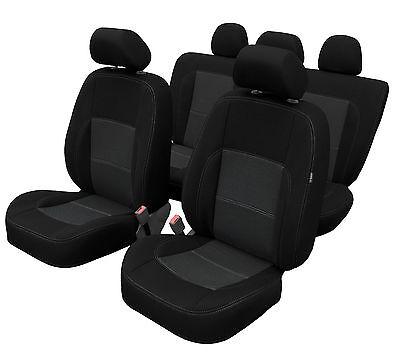 Mitsubishi Outlander III Maßgefertigte Atmungsaktive Velours Sitzbezüge VGP1