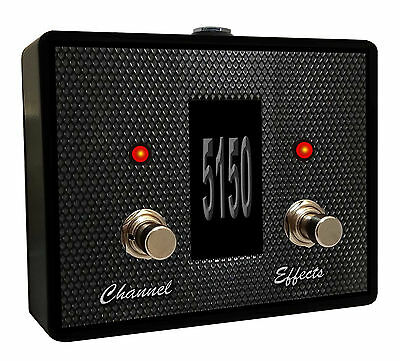 5150 Series - Switch Doctor Custom Footswitch for Peavey 5150, 6505 (Series 1) Amps