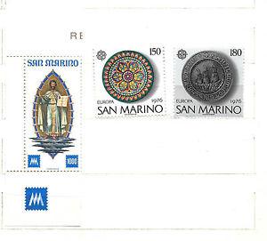 1976 - 1977 SAN MARINO n.2 serie complete : IDEA EUROPA e CENTENARIO , nuovi - Italia - 1976 - 1977 SAN MARINO n.2 serie complete : IDEA EUROPA e CENTENARIO , nuovi - Italia