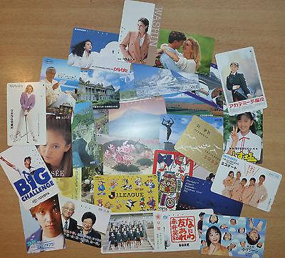 TK Telefonkarte/Phonecard Japan 1000 verschieden Motive