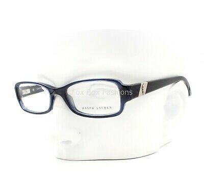 Ralph Lauren Polo RL 6075 5276 Eyeglasses Glasses Crystal Blue Sea 50mm (Small)