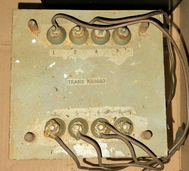 Vintage Western Electric KS-8683 Transformer for Tube Amp Build
