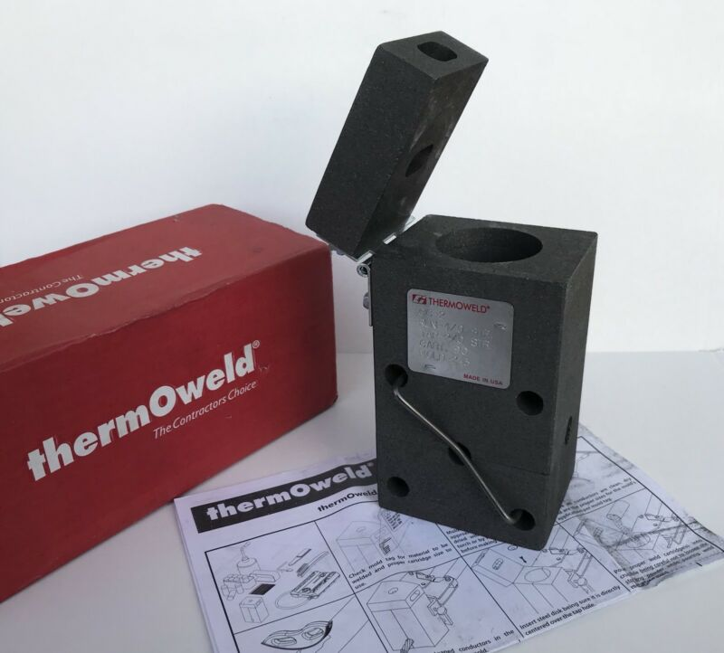 Thermoweld M-243 Mold  CC-2 4/0 STR Run TO 2/0 STR TAP 600402430000