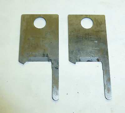 Set Of Square Cut Cutter Blades - Eubanks 2600 2700 Wire Stripper 00169