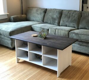 Ikea Leksvik pine coffee table
