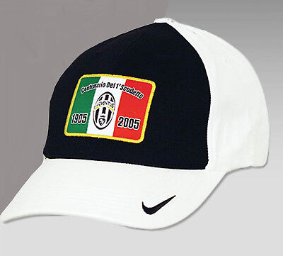 33b8f6f8c6b NEW Vintage Nike Juventus Baseball Cap Closed back M