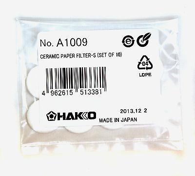1set Ceramic Paper Filter A1009 1set10pcs Hakko Desoldering Tool Japan