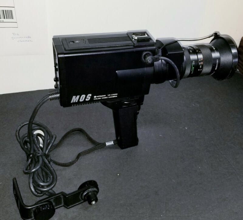 Vintage Hitachi VK-C1000 Color Video Camera With Fujinon-TV Zoom Lens