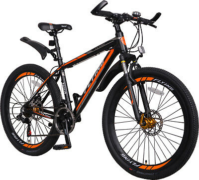 SALES Mens 26'' Mountain Bikes Bicycles 21 Speeds SHIMANO aluminium Frame Warran