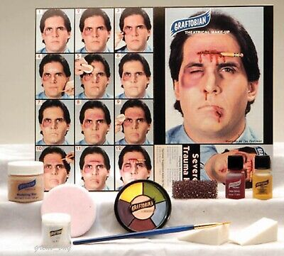 Graftobian Professional_Severe Trauma Makeup Kit_for Special Effect_Make-up - Special Effects Makeup Kit