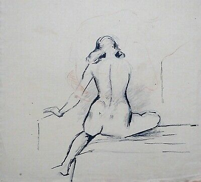 Franklin White (1892-1975) Original drawing - Full Prov (lk Henry Tonks Slade){