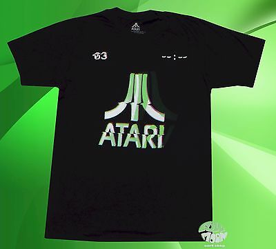 New Atari Glitch  Mens Vintage Video Game Classic T-Shirt