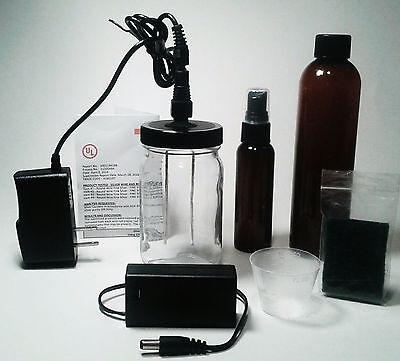 Colloidal Silver Generator Original Four Nines Fine 110v/1amp + 9v 12 ga 9999