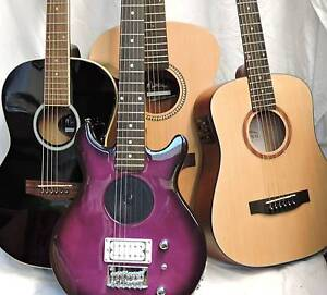 GUITARS fm $49 *Beginners *Travellers * Ukes *Repairs *Small Body Burwood Whitehorse Area Preview