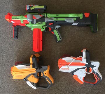Nerf Gun and Lazer Tag guns Glenorchy Glenorchy Area Preview