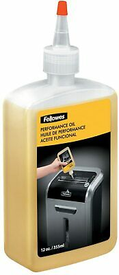 Fellowes 35250 Powershred Shredder Lubricant Oil For Crosscut Microcut Shredder