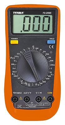 Tenma 3.5 Digit Handheld Manual Ranging Digital Multimeter With Acdc Voltage