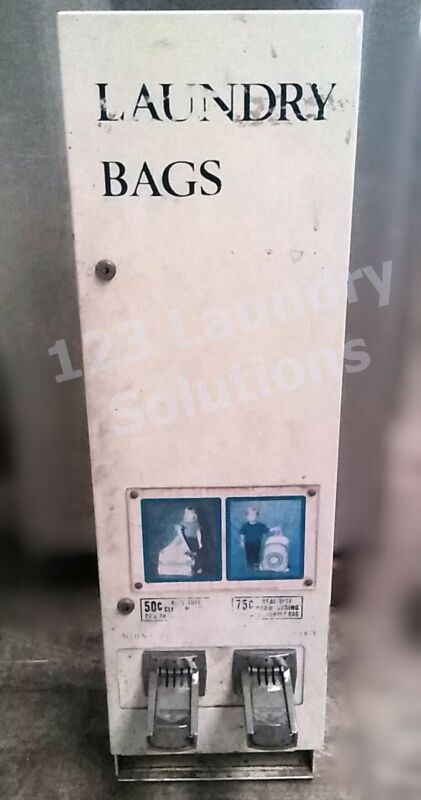 Coin Operated Laundry Bag Dispensing Machine ( USED )