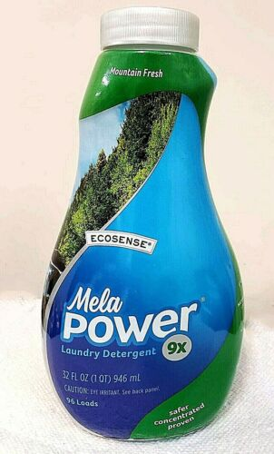 Melaleuca MelaPower Laundry Detergent 9X Concentrate 32oz Mountain Fresh