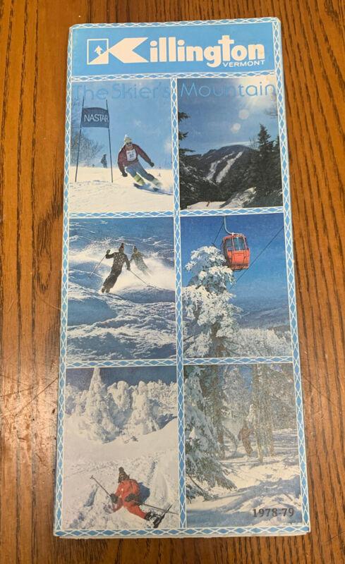 vintage Killington Vermont The Skiers Mountain Brochure 1978-79 Ski Vacation