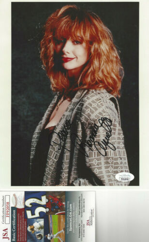 Rosanna Arquette  autographed 8x10 color  posed  photo   JSA Certified