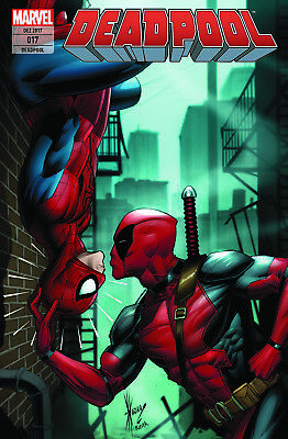 DEADPOOL(2016) 17 deutsch KISS-VARIANT lim.333 Spider-Man/Deadpool 1 DALE KEOWN
