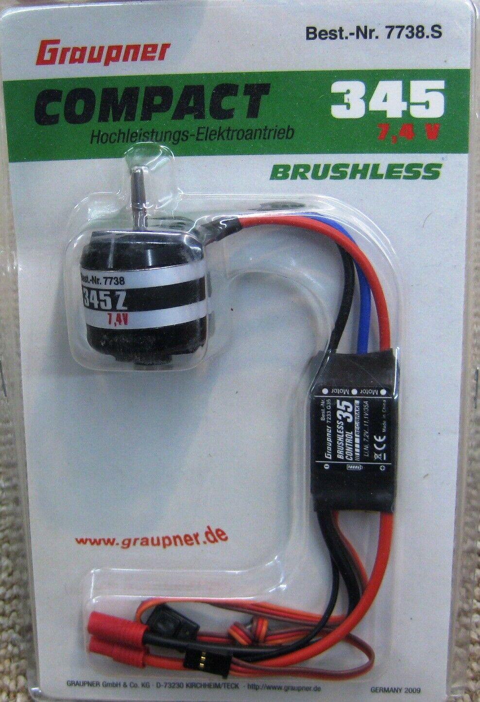 Graupner Compact 260 Z-1820kV Brushless Outrunner Motor