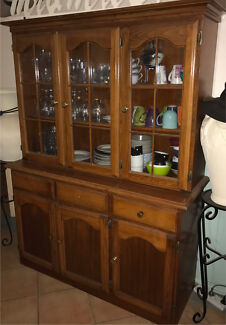 Timber Wall Unit with Bar | Buffets & Side Tables | Gumtree ...
